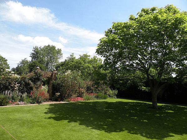 シシングハースト城庭園03
