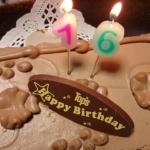 年齢更新日が再び到来して自分でお誕生ケーキをTop'sで買ってきました