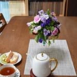【庭の花を使って】フラワーアレンジ② ワイングラスへの入れ方ポイント