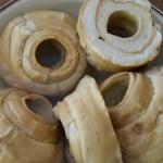 【車麩】で鶏肉と煮物・焼肉風・オニオングラタン風スープ 作ってみました