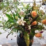 【展示用花装飾】花の持ち具合は気温が大きく影響!