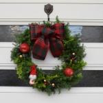 【クリスマスリース】1時間でできるヒムロスギを使ったグリーンリース 簡単な作り方