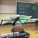 自主練習で課題曲とプーランクの曲を練習しました