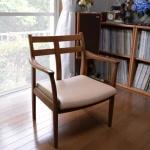 【椅子張替え】ダイニング椅子の張替えをしました(出来上がりまで)2