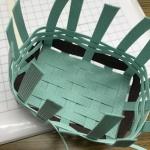 【クラフトバンド】紙のバンドを使った籠の作り方講習会に行ってきました!