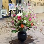 【水彩画作品展】花装飾リリス会場終了しました