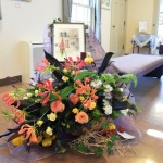 【花装飾】山手234番館の水彩画作品展が始まりました