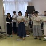 【校歌祭】練習に行ってきました!今回も新しい参加者が増えました!