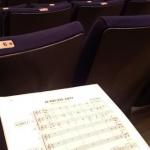 アカペラの団の合同練習で気分は演奏会へ
