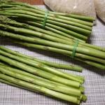 長野【古民家生活】のお土産は朝採れアスパラ軟らかくて濃厚で美味しい!
