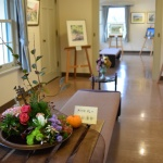 【花装飾】絵画教室作品展終了しました。計1750名の来場者があったそうです!