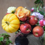 【フラワーアレンジメント】ハロウインを楽しむカボチャのアレンジ 作り方