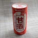 【甘酒】酒粕を使っているメロディアン 甘さもすっきりしていて美味しかった!