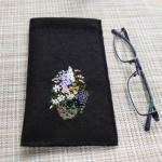 【フェルト手芸】バネ口金でメガネケースを作ってみました!