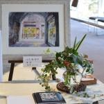 【水彩画教室作品展】花装飾7日間で780名の方に観ていただきました!