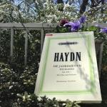 【ハイドン四季】言葉が大切な曲の言葉を立てる歌い方を練習!