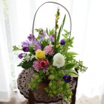 【フラワーアレンジメント】お花の写真は撮影場所でここまで違う