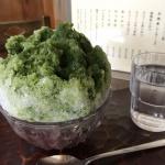 鎌倉の夏の楽しみは【納言】の宇治金時!