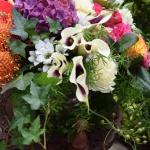 【フラワーアレンジメント】葉物を花と同等の扱いで入れるとお洒落になります!(使い方)