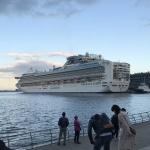 横浜新埠頭に【ダイヤモンドプリンセス】の出航を見に行ってきました!