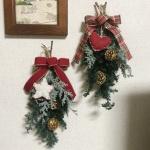 【クリスマス用ドア飾り】50人分の講習会の準備もあと少し!