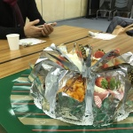 先生に感謝の茶話会をしました!練習は全曲!