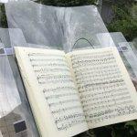 【新型コロナウイルス】対策!合唱練習用に楽譜カバー型ガード試作品を作ってみました!