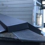 【屋根・外壁塗装工事】2日目 棟の取り換え板金工事