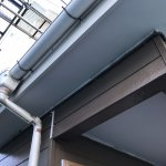【屋根・外壁塗装工事】7日目 外壁下塗と破風と軒天の塗装1回目
