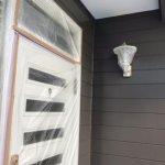 【屋根・外壁塗装工事】8日目 外壁塗装の1回目、やっぱり色見本より少し明るめですね