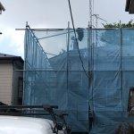 【屋根・外壁塗装工事】4日目 雨漏り箇所を注意しながらジェット噴射で洗浄