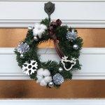 企業催事用に北欧風クリスマスリースを作りました!