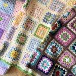 【モチーフ編みのお昼寝ケット】過去の作品が92歳の母のやる気になりました!