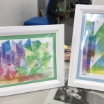 【アートセラピー】パステルで色と形を楽しみ、作る事に没頭する時間でした!