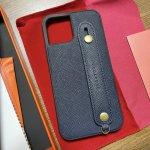 【iPhone12】HANATORAの本革スマホケース!手触りも良く高級感があっていいです!