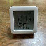 【ワイヤレス温湿度計】SwitchBot 離れていても温度が分かる温度計を母の部屋に買いました!