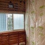 【浴室・洗面リフォーム】工事3日目 木部造作工事と防虫剤と断熱材が入りました!